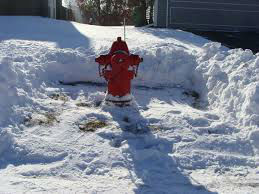 Example of cleared fire hydrant.